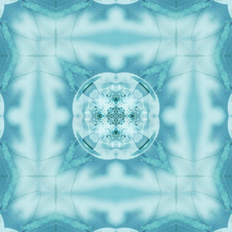 Abr?g? sur fond de mosa?que en verre de mod?le souillé contemporain illustration de vecteur