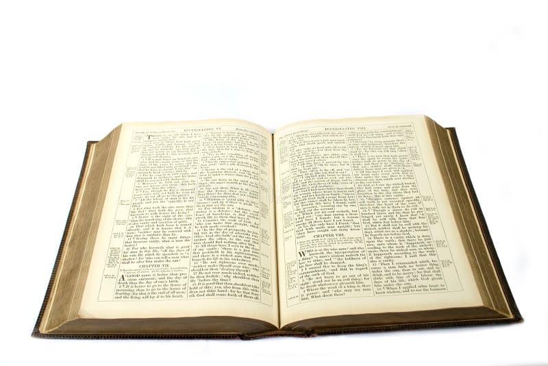 Download Abra a Bíblia imagem de stock. Imagem de livro, velho, palavras - 102945