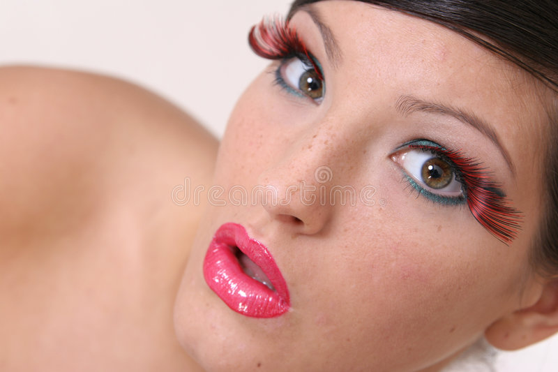 Download Abra a boca imagem de stock. Imagem de erotic, retrato - 540747