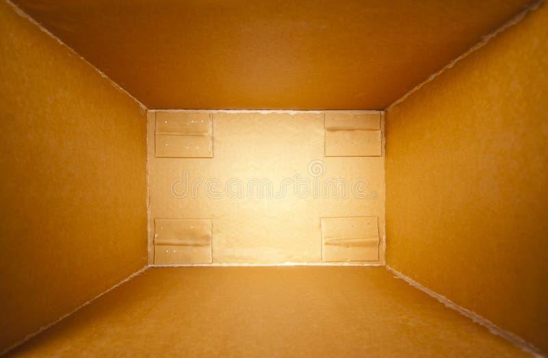 Abra a caixa da entrega fotos de stock royalty free