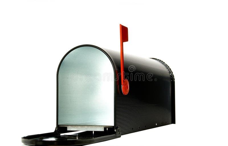 Abra a caixa postal imagens de stock