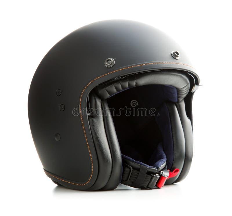 Abra el casco de la motocicleta de la cara imagenes de archivo