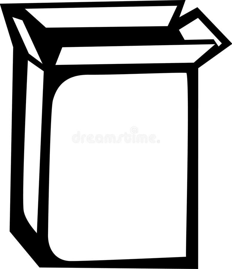 Abra el conjunto stock de ilustración