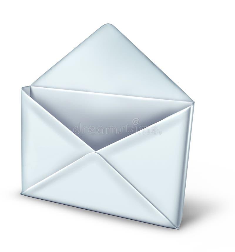 Abra el correo ilustración del vector