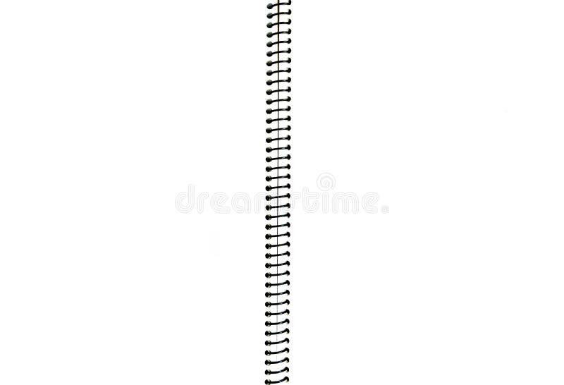 Abra el cuaderno en blanco fotografía de archivo