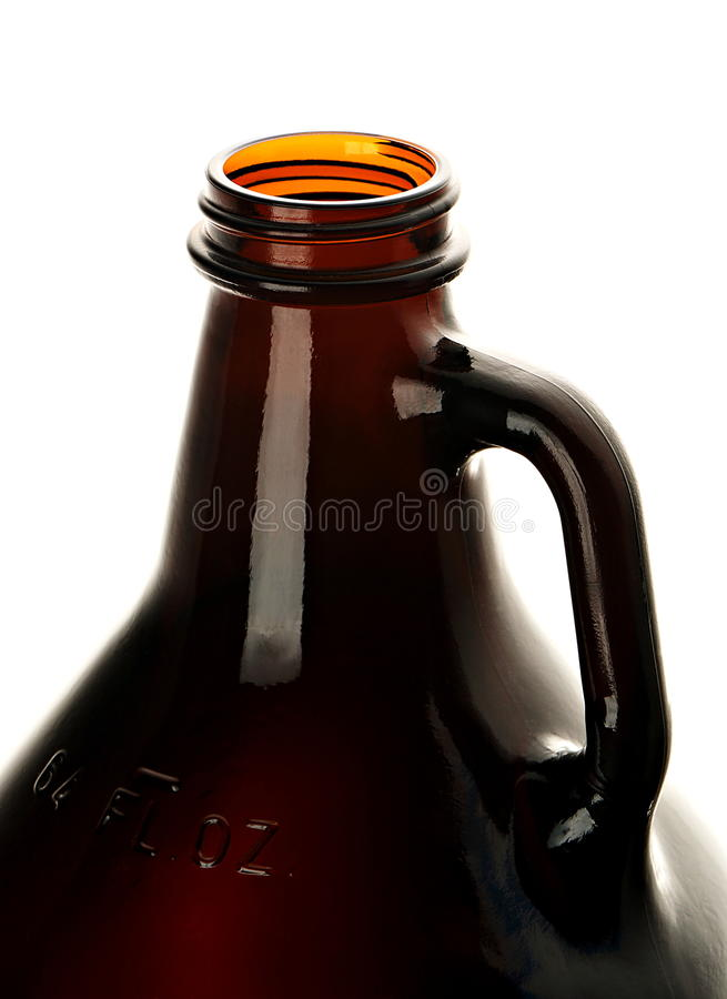 Abra el gruñidor de la cerveza imagen de archivo libre de regalías