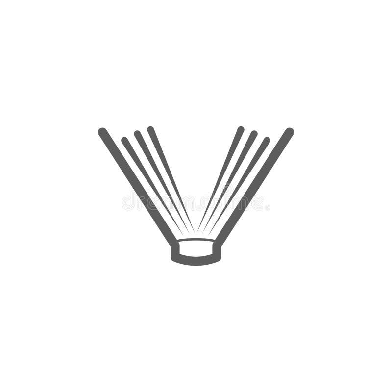 Abra el icono del libro Elemento del icono de la educación Icono superior del diseño gráfico de la calidad Muestras, icono de la  stock de ilustración