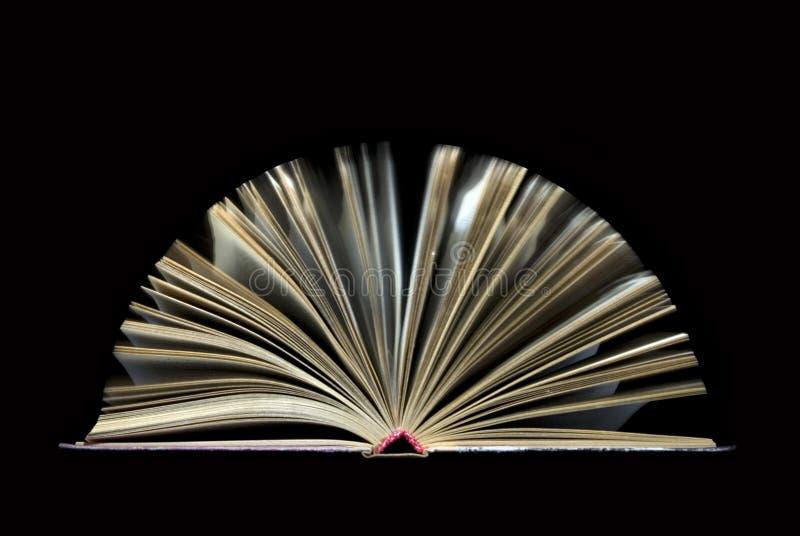 Abra el libro fotografía de archivo