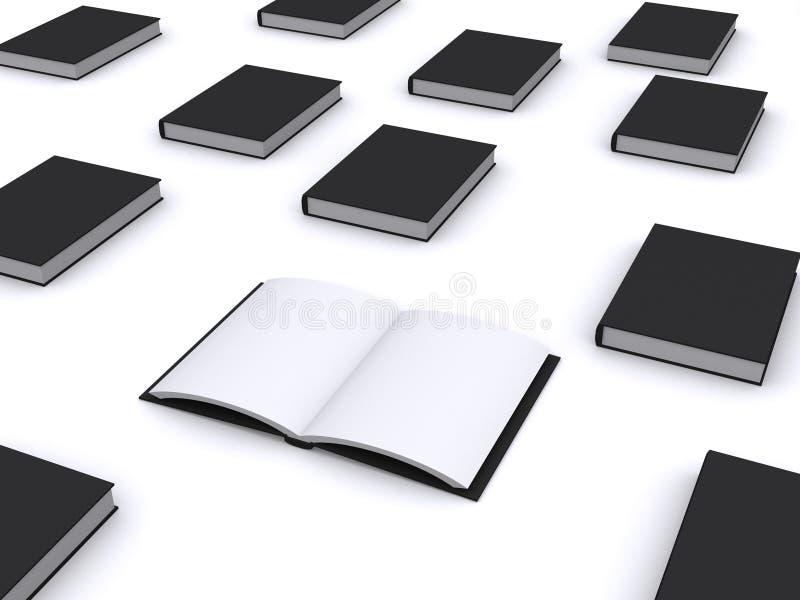 Abra el libro negro libre illustration