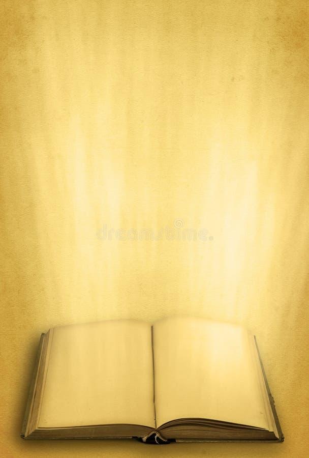 Abra el libro sagrado fotografía de archivo libre de regalías