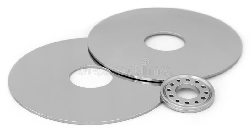 Abra el mecanismo impulsor de disco duro foto de archivo