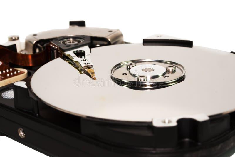 Abra el mecanismo impulsor duro fotografía de archivo