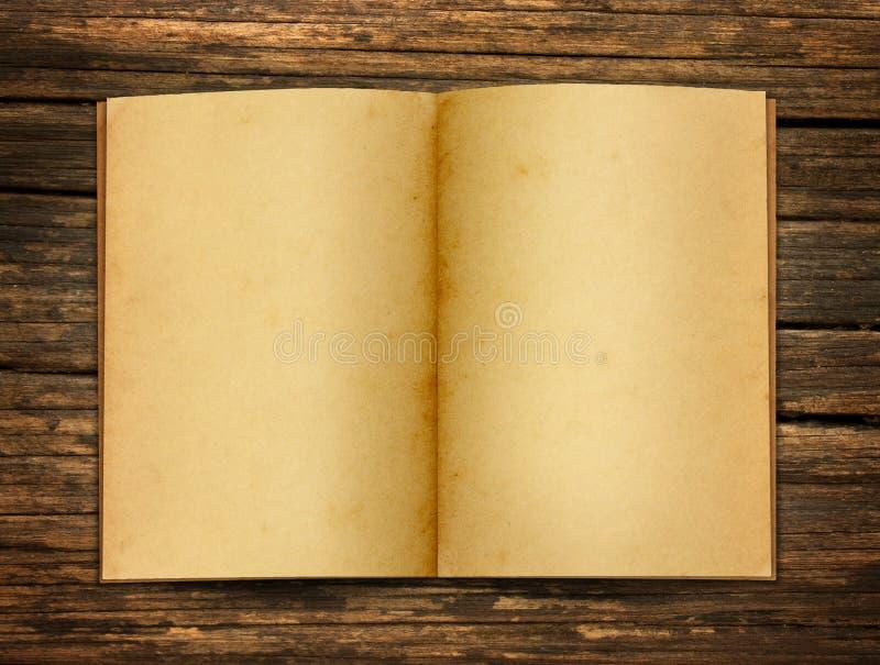 Abra el papel viejo imagen de archivo