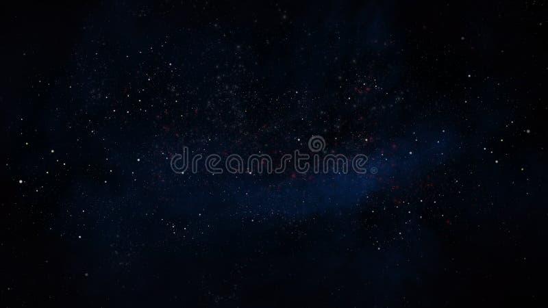 Abra el racimo de estrellas stock de ilustración