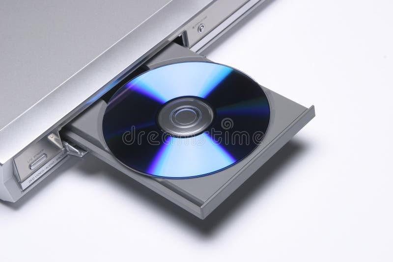 Abra el reproductor de DVD fotos de archivo