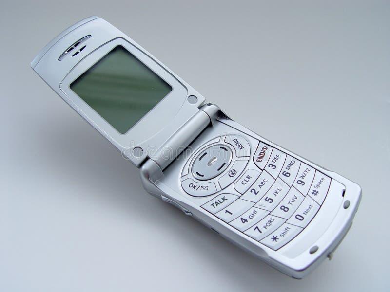 Abra el teléfono celular imagenes de archivo