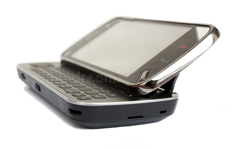 Abra el teléfono celular imagen de archivo libre de regalías