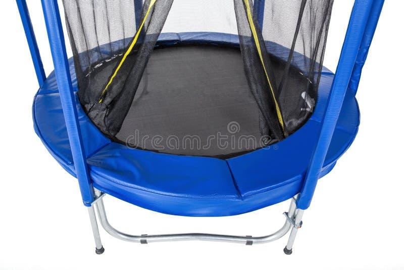 Abra el trampolín del primer para los niños y los adultos para la diversión interior o la aptitud al aire libre que salta en el f fotos de archivo