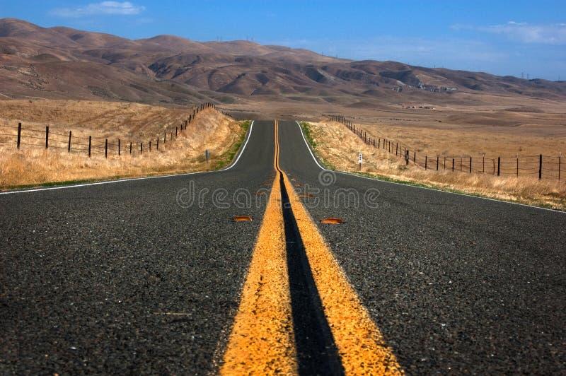 Abra a estrada imagens de stock royalty free