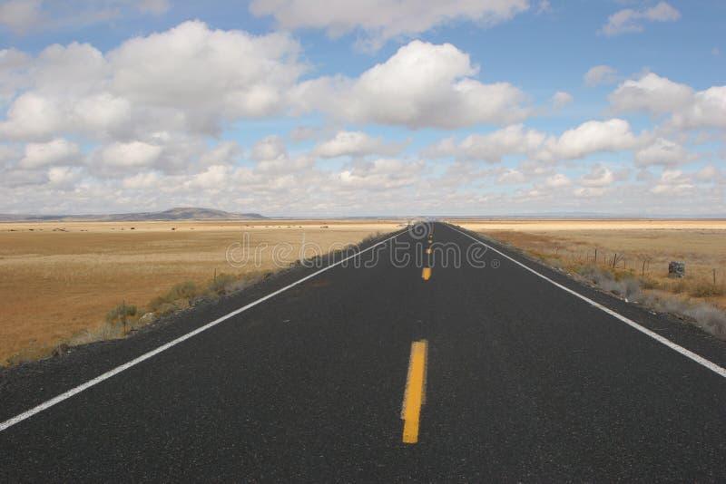 Abra a estrada fotografia de stock royalty free