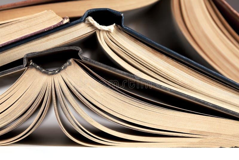 Abra livros fotos de stock royalty free
