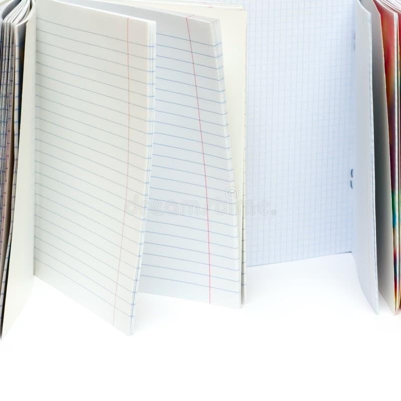 Abra los escritura-libros imágenes de archivo libres de regalías