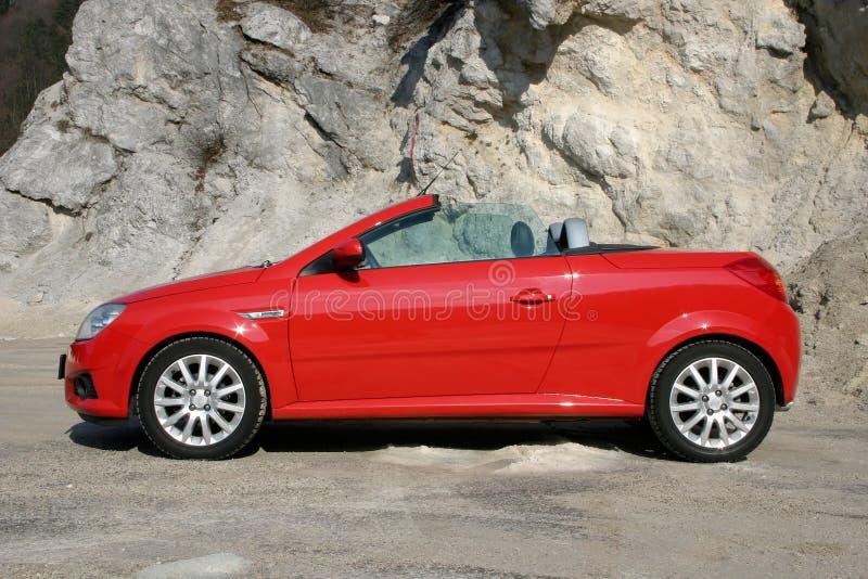 Abra O Carro De Esportes Superior Fotos de Stock Royalty Free