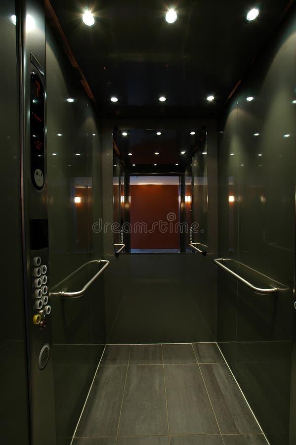 Abra o elevador foto de stock royalty free