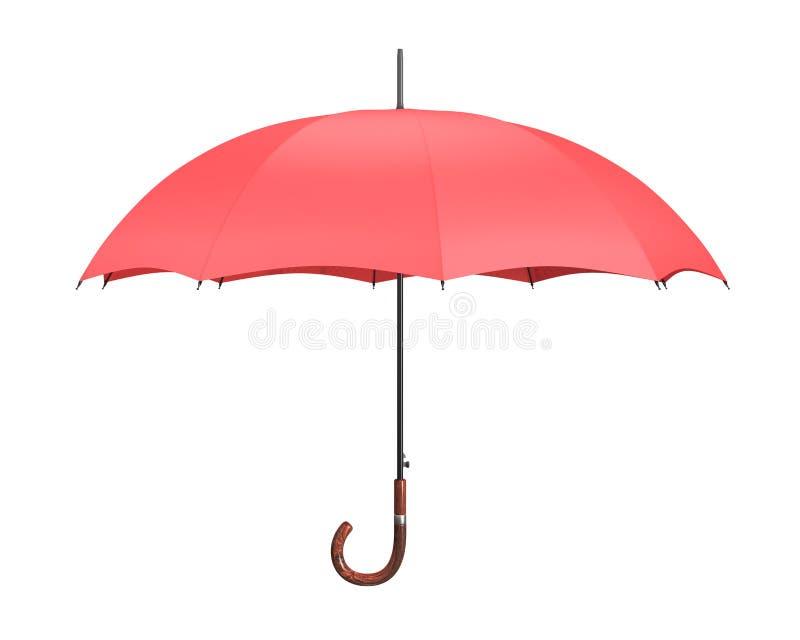 Abra o guarda-chuva (isolado) ilustração royalty free