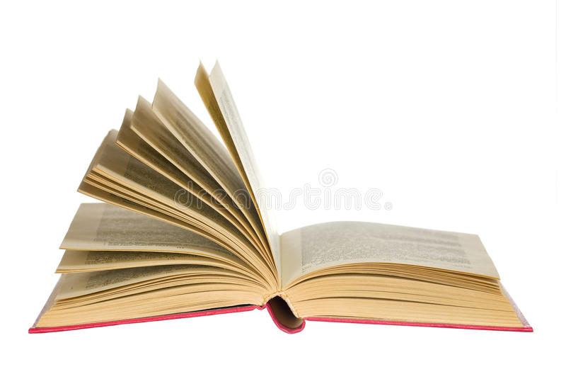 Abra o livro imagens de stock royalty free