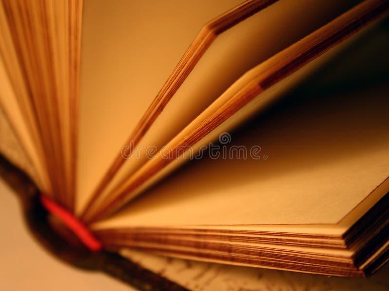 Abra o livro da lembrança fotografia de stock royalty free