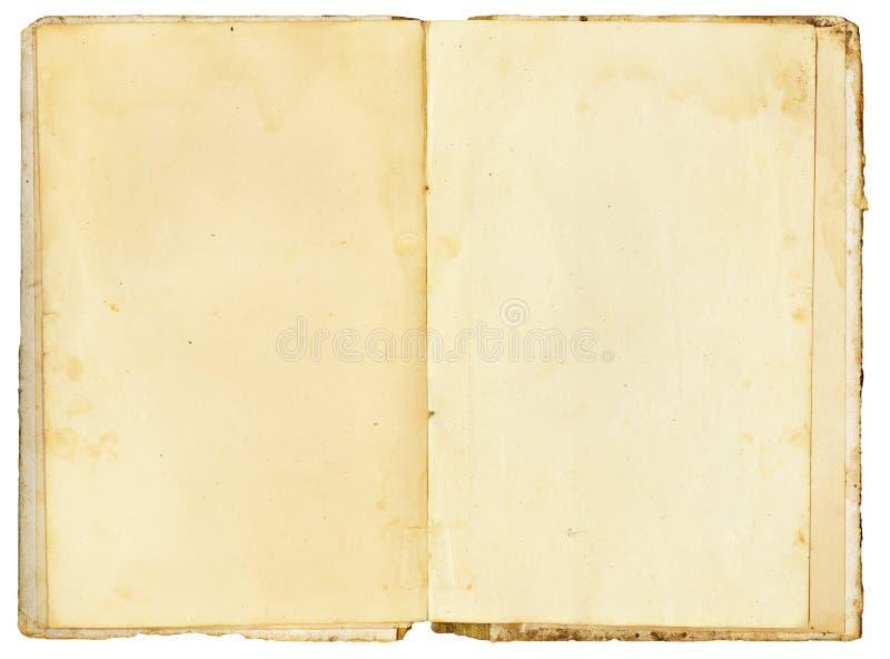 Abra o livro do vintage fotos de stock