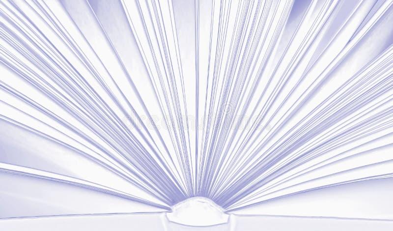 Abra o livro, fundo agradável ilustração royalty free