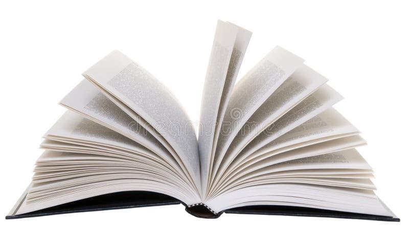 Abra o livro isolado fotografia de stock royalty free