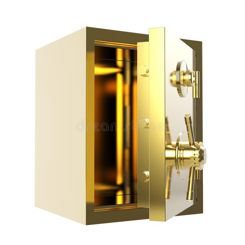 Abra o vault de banco fotografia de stock royalty free