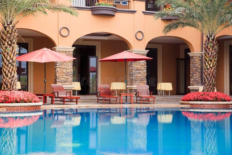 Abra a piscina imagem de stock royalty free