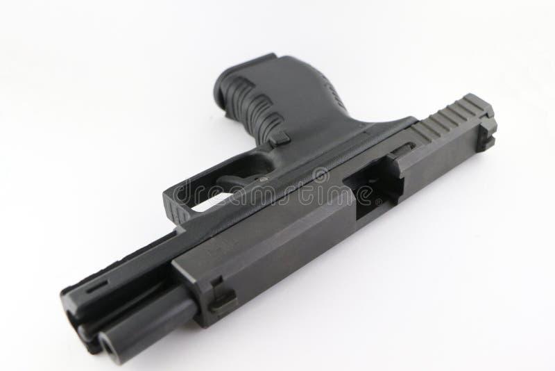 Abra a pistola imagens de stock