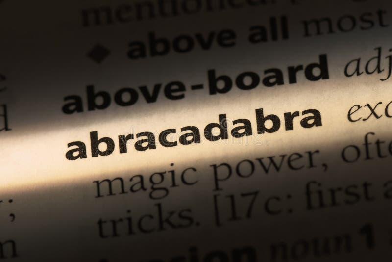 abracadabra fotos de stock royalty free