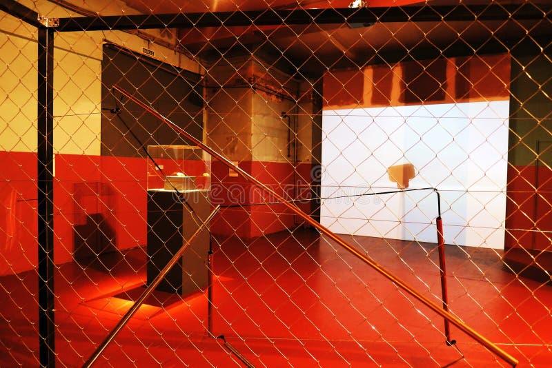 abracadabra Youngart Arte moderna internacional bienal em Moscou imagem de stock