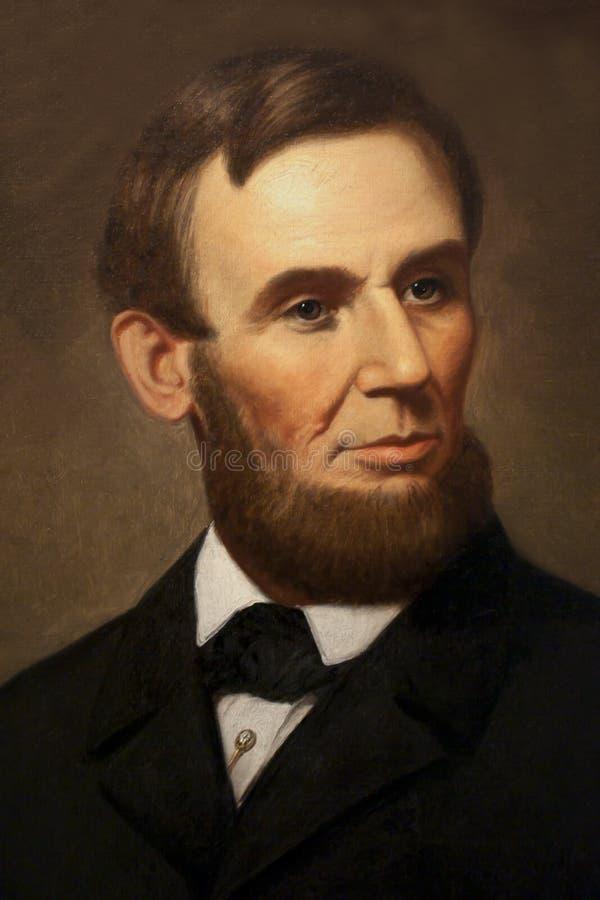 Abraham Λίνκολν στοκ εικόνα
