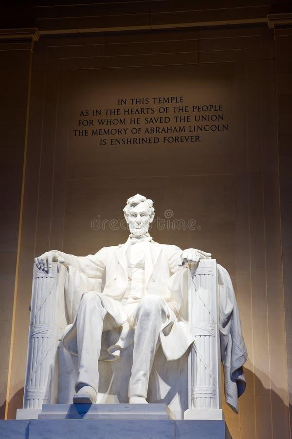 Abraham Λίνκολν στοκ φωτογραφία