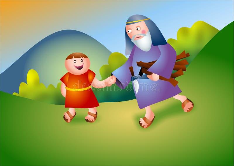 Abraham. And Isaac biblical characters