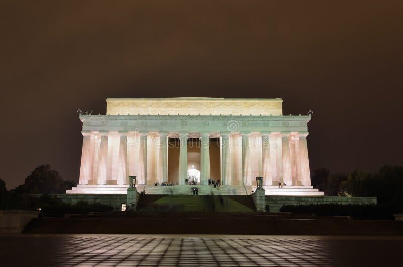 abraham dc Lincoln pomnik usa Washington zdjęcia stock