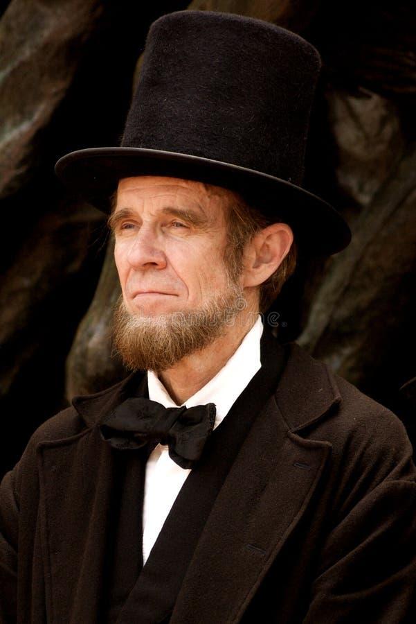 Abraham Lincoln 免版税库存图片