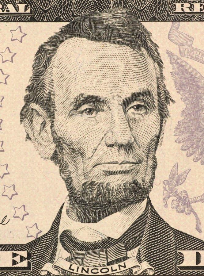Abraham Lincoln royaltyfri bild