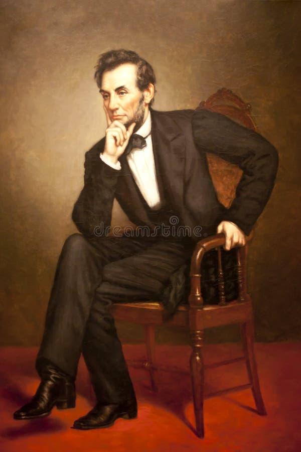 Abraham Lincoln royalty-vrije stock foto