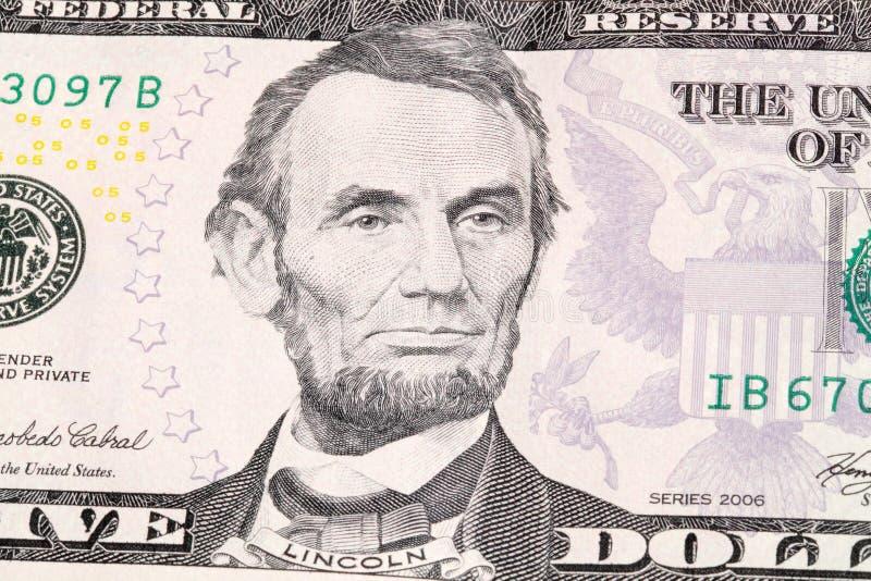 Abraham Lincoln imagem de stock