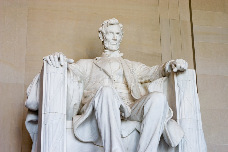 Abraham Lincoln photographie stock