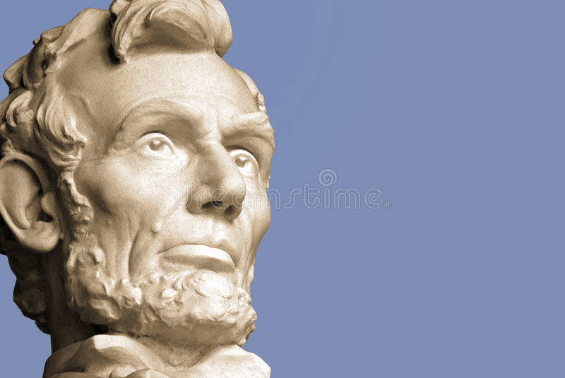 Abraham Lincoln stock afbeelding