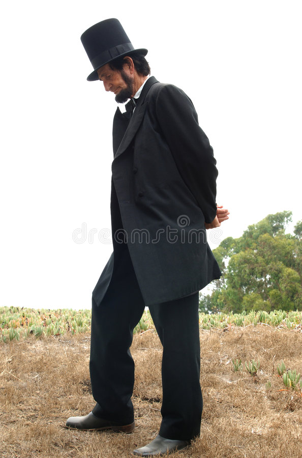 Abraham Lincoln Alive royalty free stock images